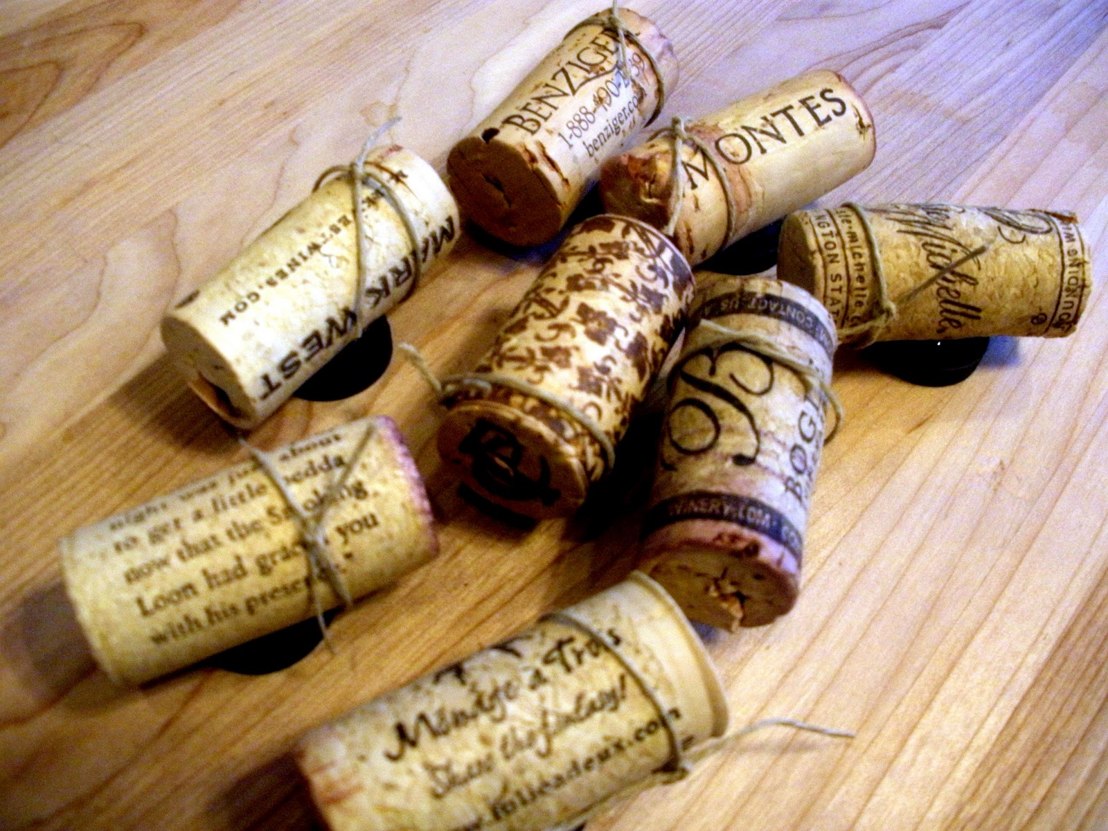 Wine cork magnets - What to do with wine corks ...