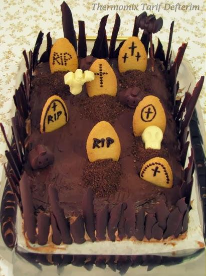 Thermomix Tarif Defterim Torta Cimitero Per Halloween