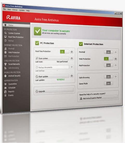 Avira Free Antivirus 15.0.10.434