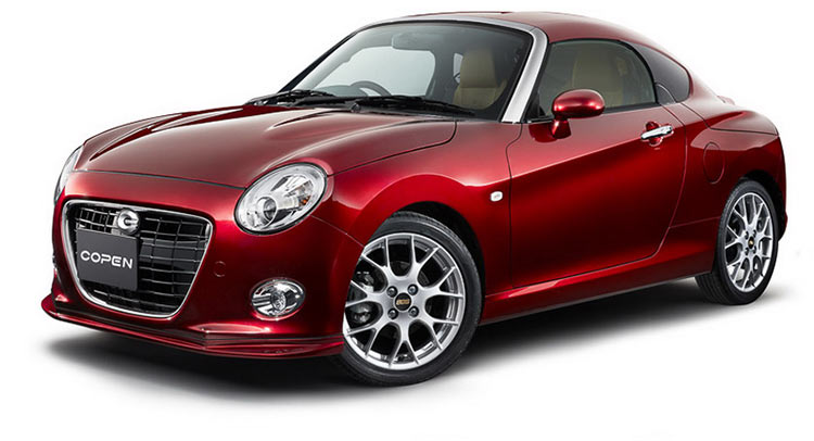 Daihatsu takes copen customization to the next level with three new concepts