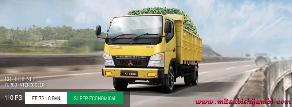 Harga Mitsubishi Colt Diesel FE 73 110 PS Pekanbaru Riau | Harga Termurah | Proses Kredit Mudah