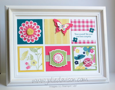 http://juliedavison.blogspot.com/2013/07/gingham-garden-framed-art.html