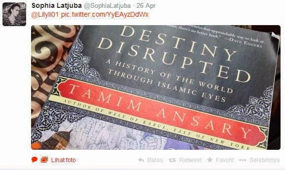 Buku tentang Islam yang sedang dipelajari Sophia