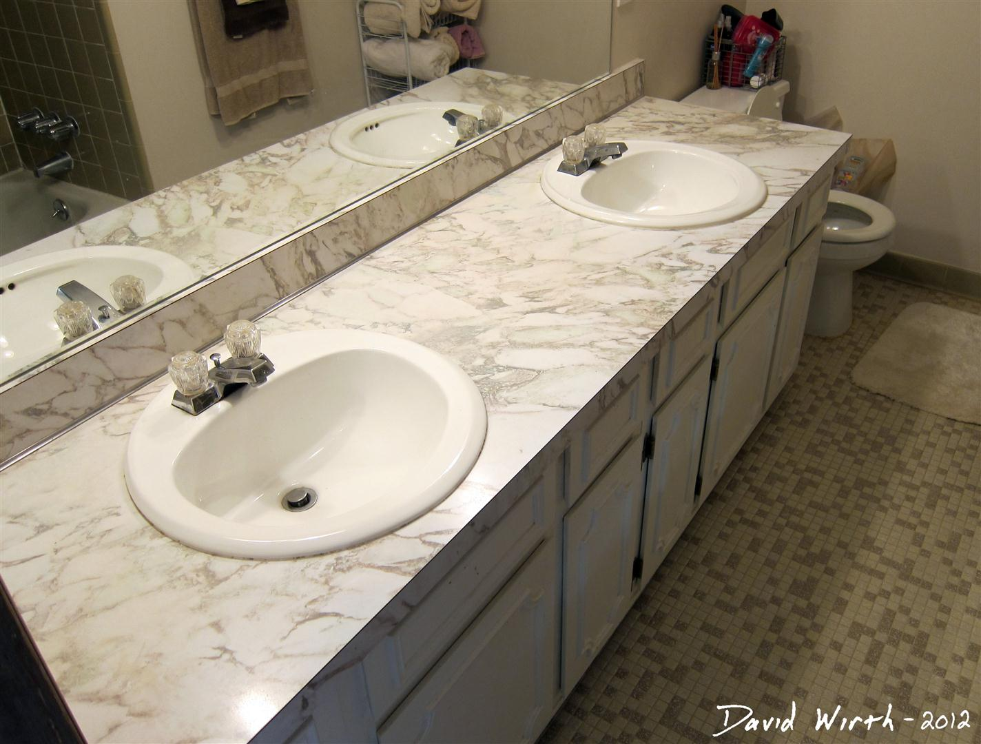how to install a bathroom sink faucet Maple