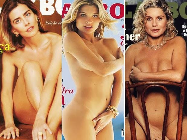 Famosas Que Mais Vezes Posaram Peladas Para Revista Playboy