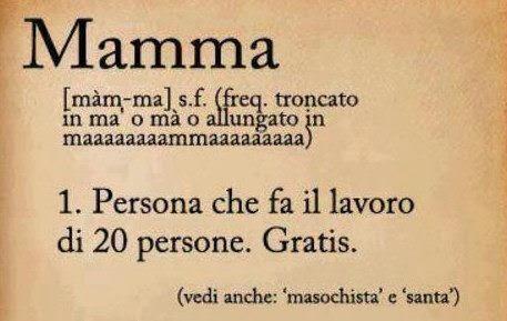 buenos días Roma - Píldoras de italiano: la mamma