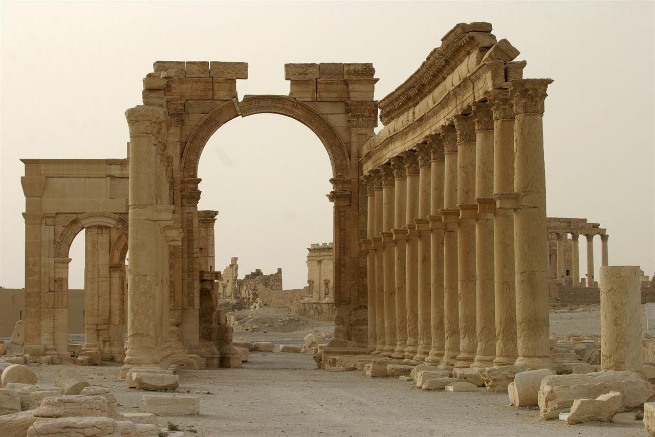 Arco del Triunfo en Palmira