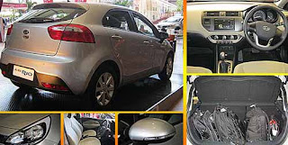 Kia All New Rio Hatchback dan Sedan Keluaran 2013