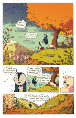 Interior art from Adventure Time 2015 Spooktacular, courtesy of BOOM! Studios