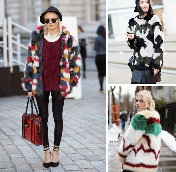 patchwork fur coats-streetstyle