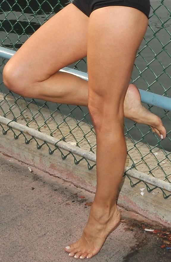 Feet pamela anderson Adil Rami
