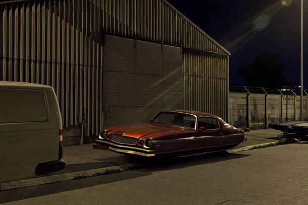Air Drive - série fotográfica de Renaud Marion - Chevy Camaro