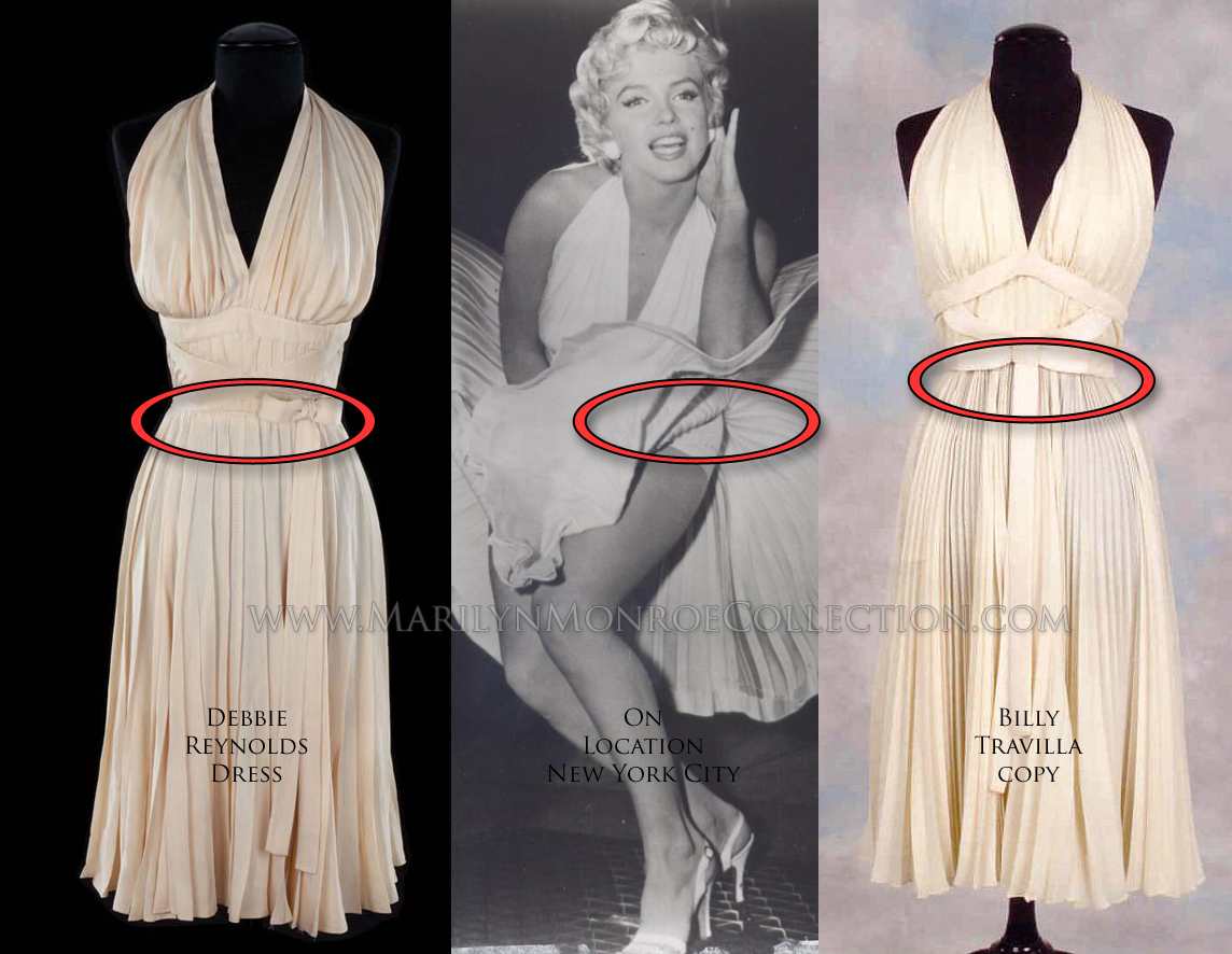 Dress to Photos of Marilyn