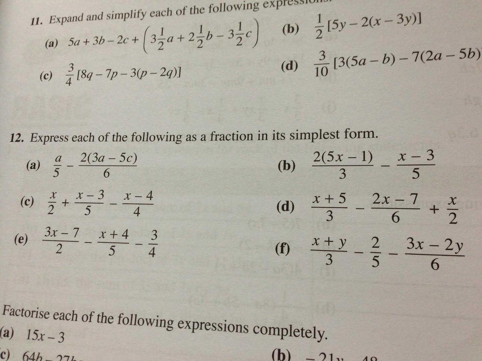 2013 S1 01 Class Blog Math Workbookworksheet 4c