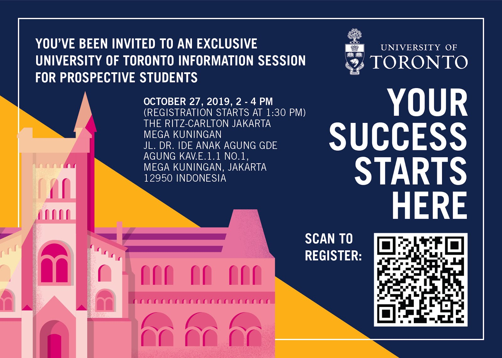 Info Session: Univ of Toronto @ JAKARTA