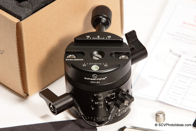 Sunwayfoto DDP-64MX+DDY-64 Panoramic Indexing Rotator unboxed