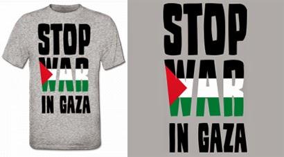 http://www.shirtcity.es/shop/solopiensoencamisetas/stop-war-in-gaza-camiseta-7018