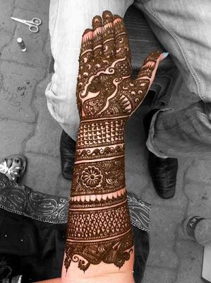 Mumbai Mehandi Design
