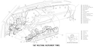 auto wiring diagram 2011 this is instrument panel diagram for 1967 ford mustang click the picture to the wiring diagr