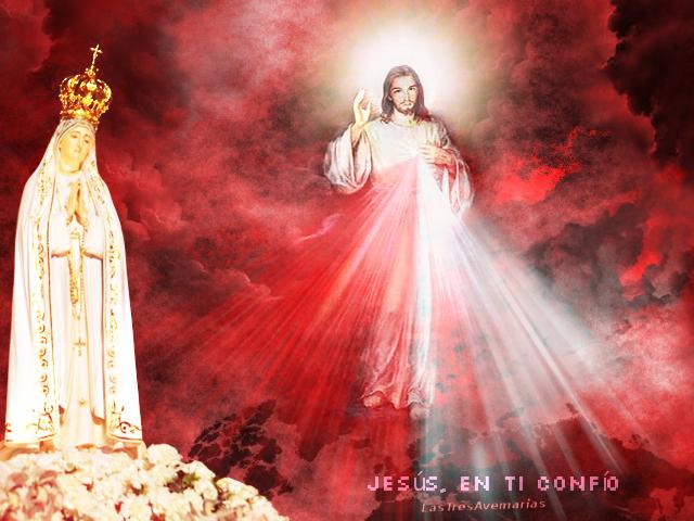 jesus y la madre de el