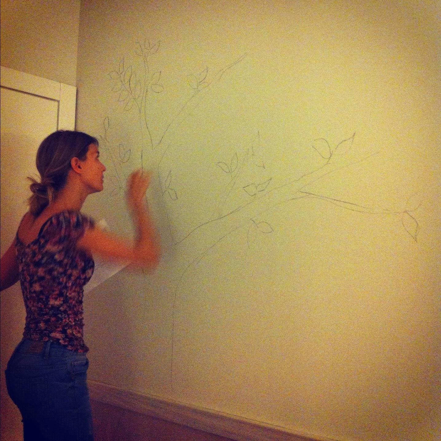 Como dibujar mural infantil for Como dibujar un mural en la pared