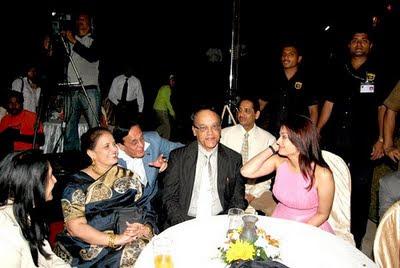 Aishwarya Rai Parents on party