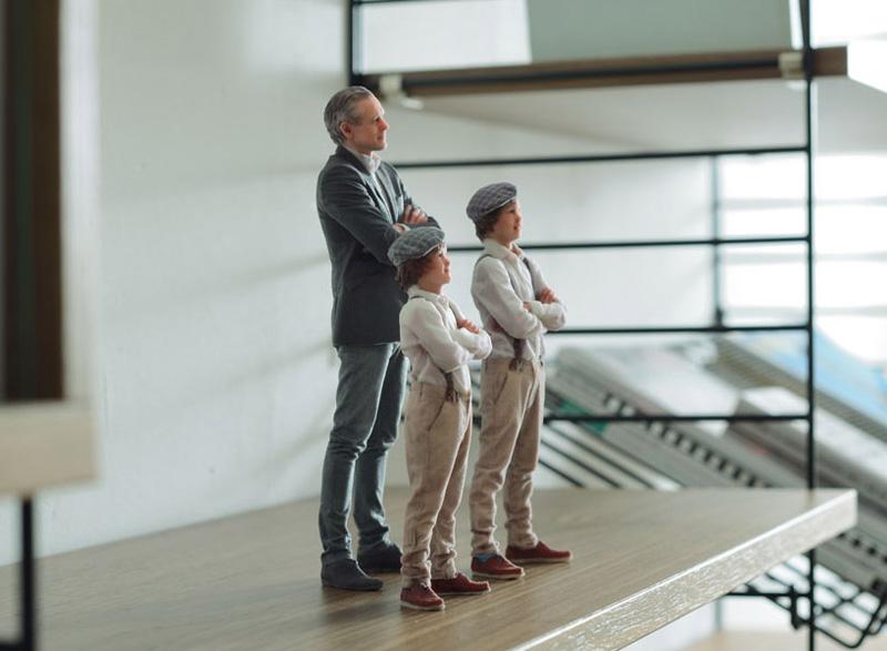 Retratos familiares 3D de Twinkind