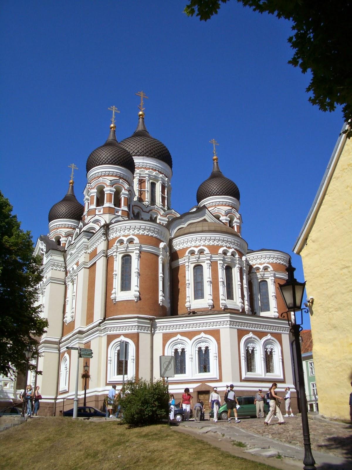 Alexander Nevsky Cathedral, Tallin Estonia
