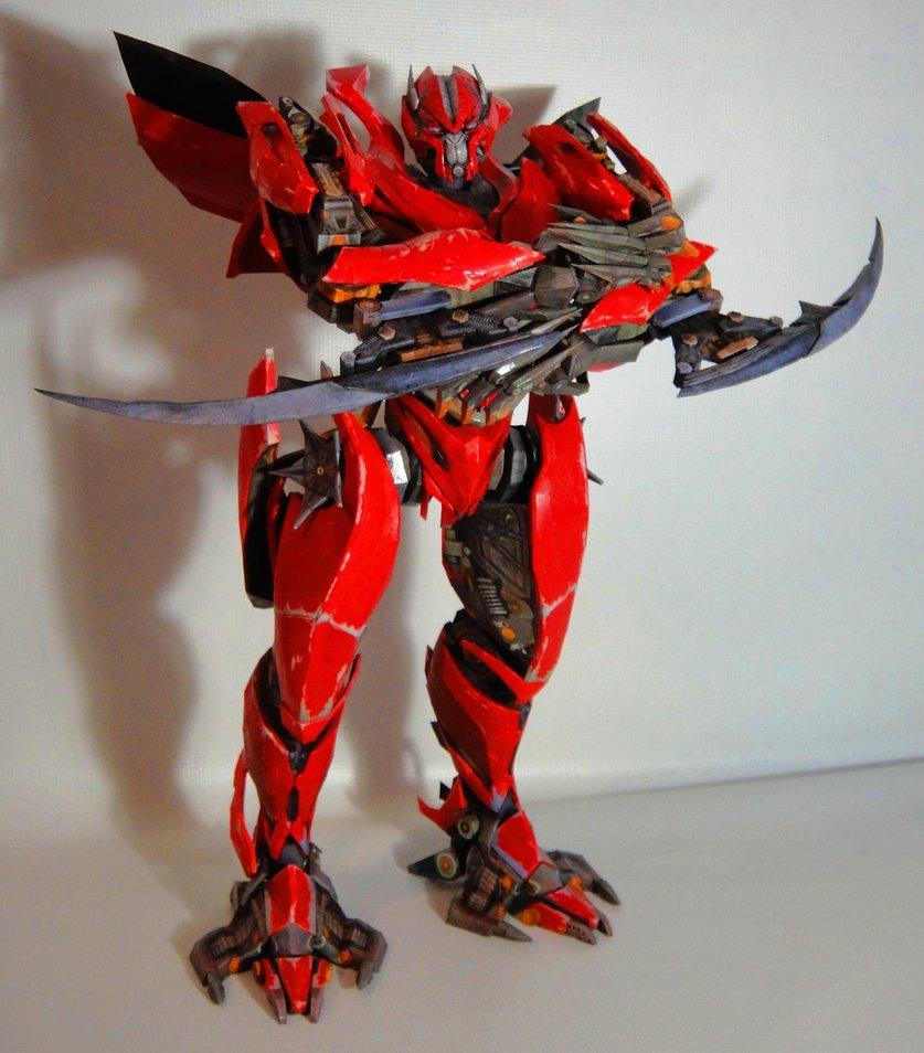 Transformers mirage papercraft papercraft paradise - Dinosaure transformers ...