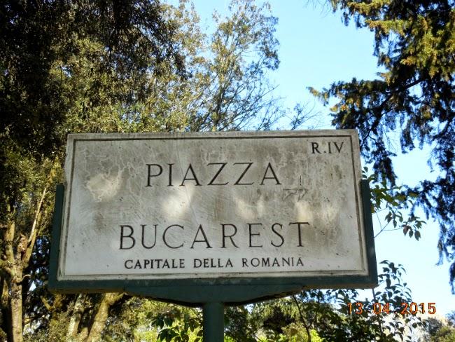Piazza Bucarest in Parcul Borghese