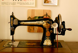 My Sewing Machine: Treadle Singer 127