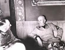 1943 - MUSSOLINI CON ROMMEL