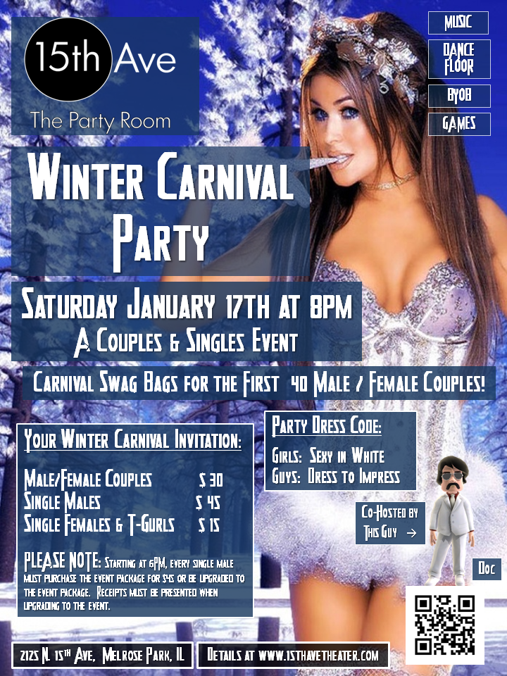 Next 15th Ave. Theater Party in Chicago: The Winter Carnival