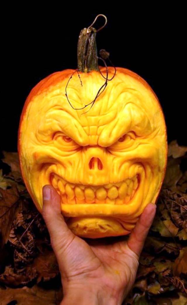 Image result for creative pumpkins