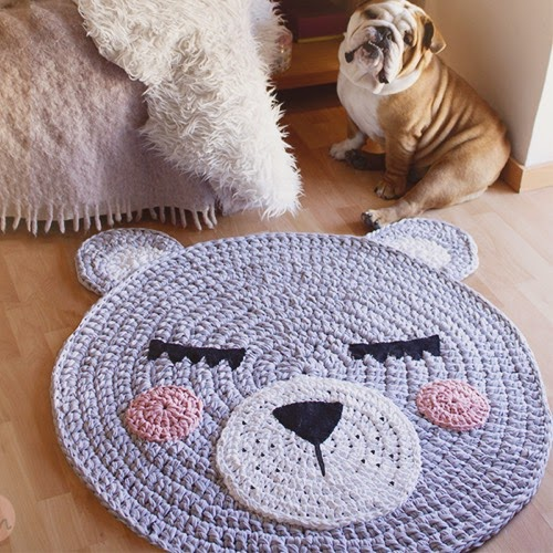 Patrones trapillo for Como hacer alfombras a mano