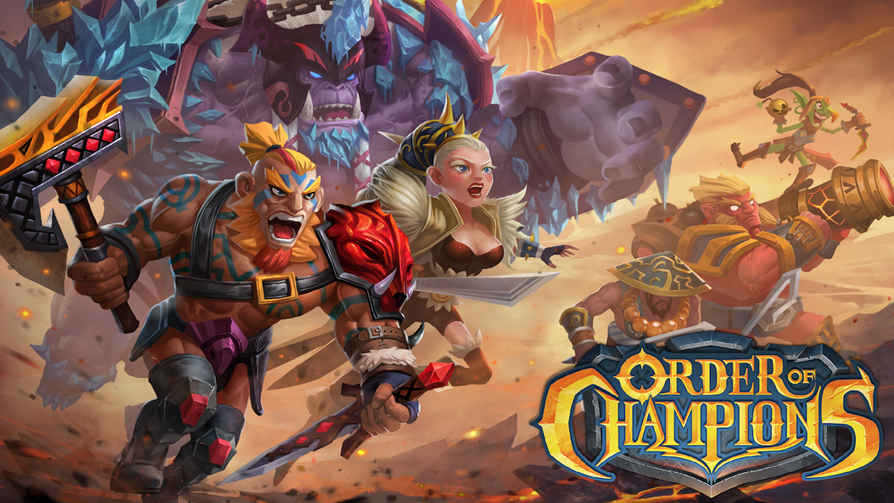 Order of Champions Gameplay IOS / Android