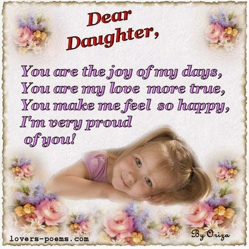 Funny I Love You Daughter Quotes : birthday daughter quotes kootation.blogspot.com