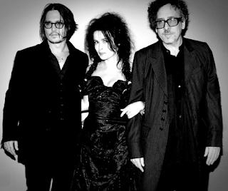 Johnny Depp, Tim Burton, Helena Bonham Carter