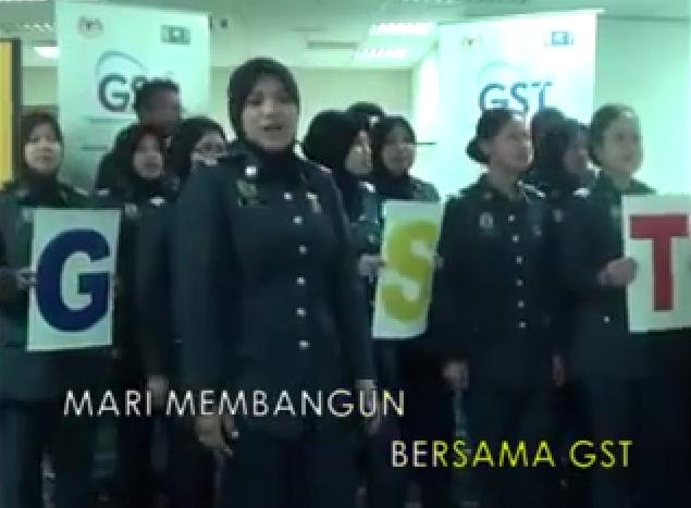 Lagu GST Kastam Malaysia