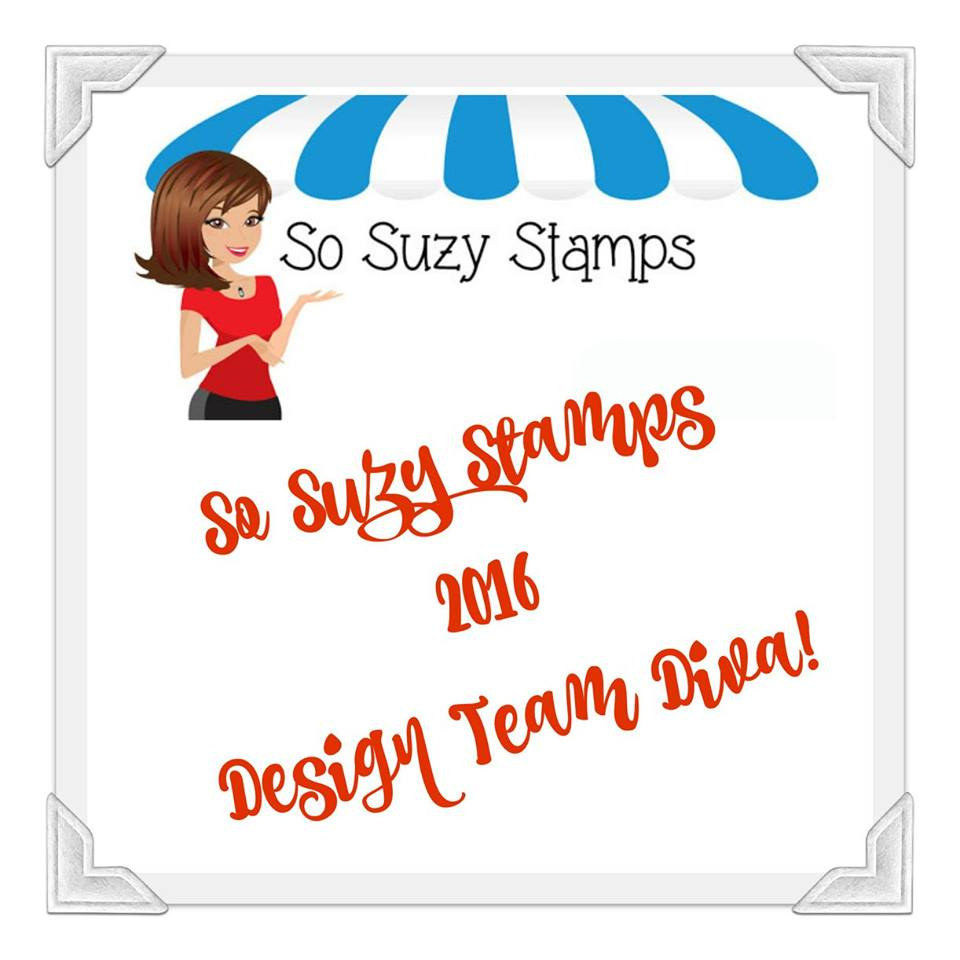 I'm a So Suzy Stamps DT Member