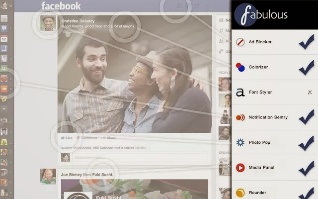 customize facebook pic