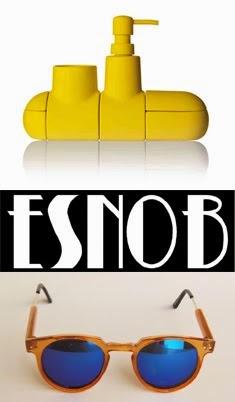 ESNOB tienda online de accesorios y decoración una muy cuidada selección de productos de diseño.