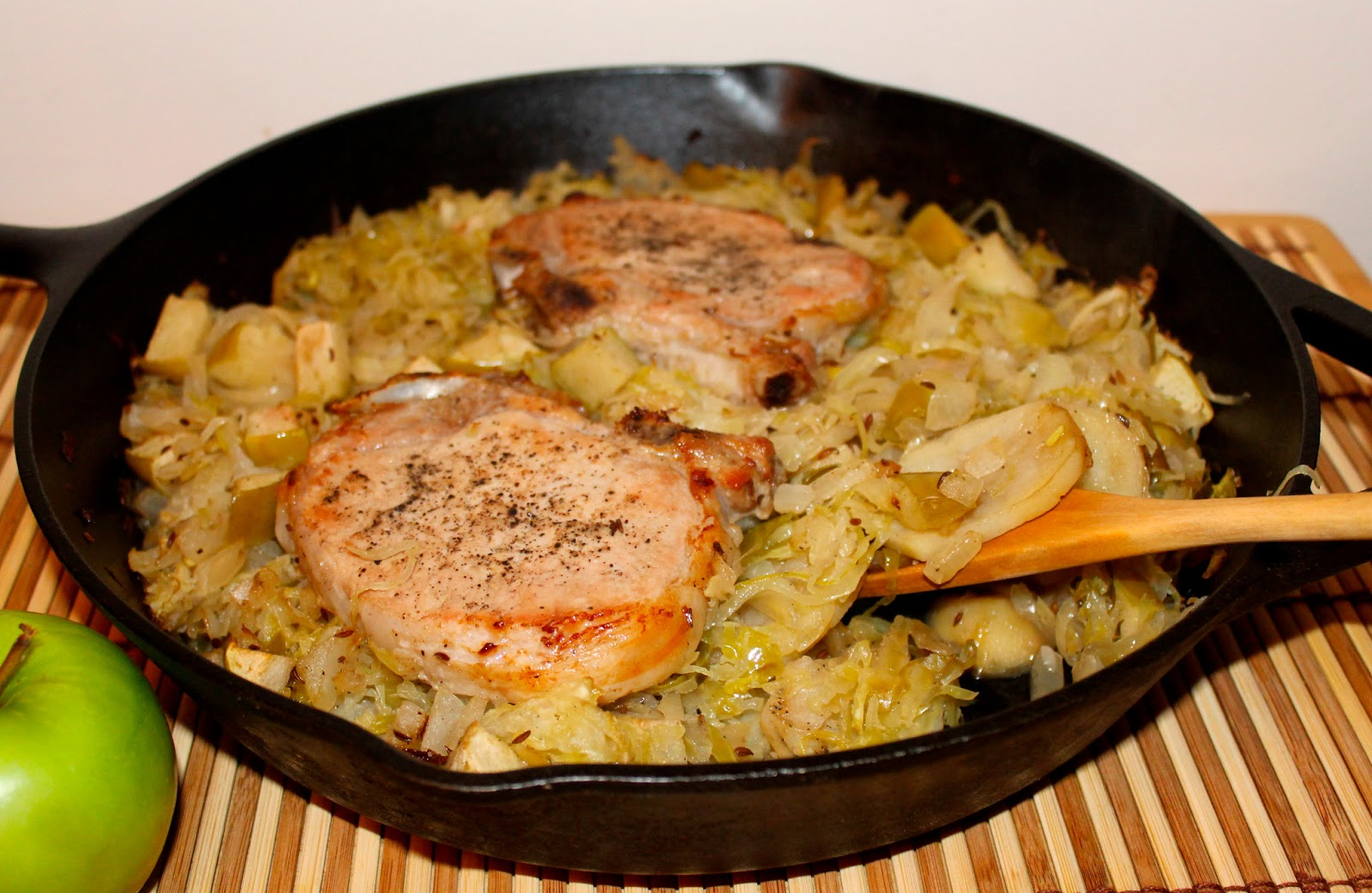 Savory Moments: Pork chop and sauerkraut casserole