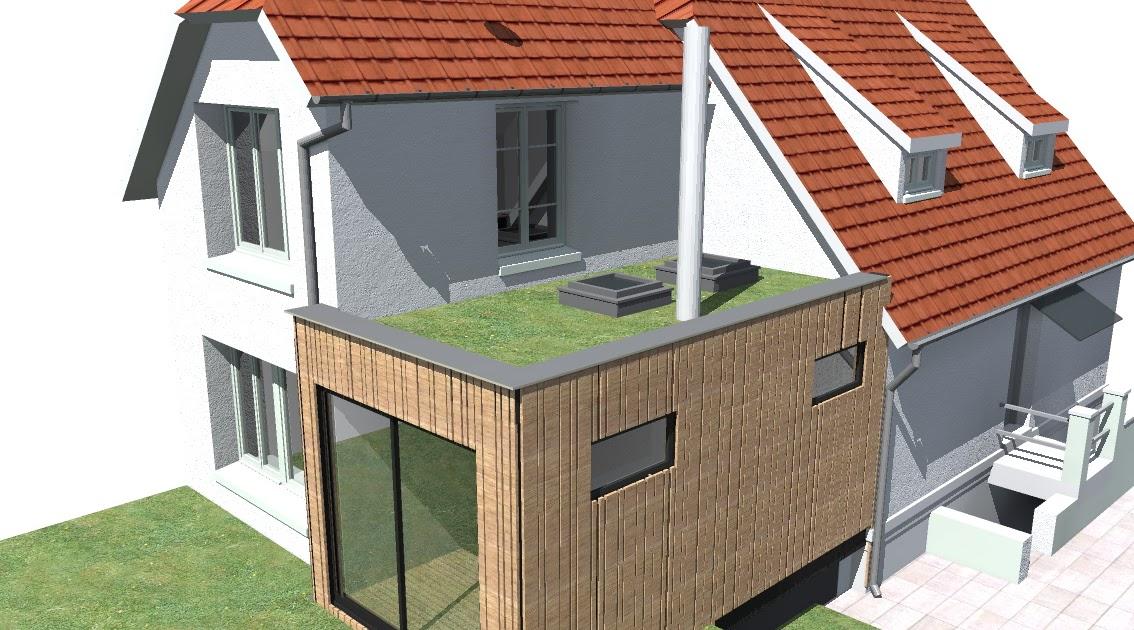 Plan agrandissement maison for Agrandissement maison plan