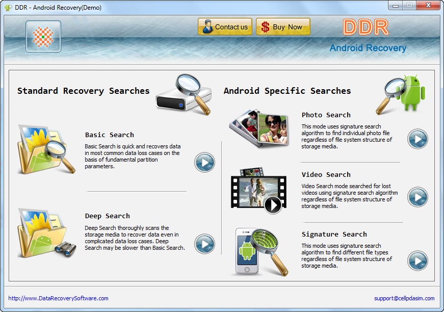 recovery software for android free