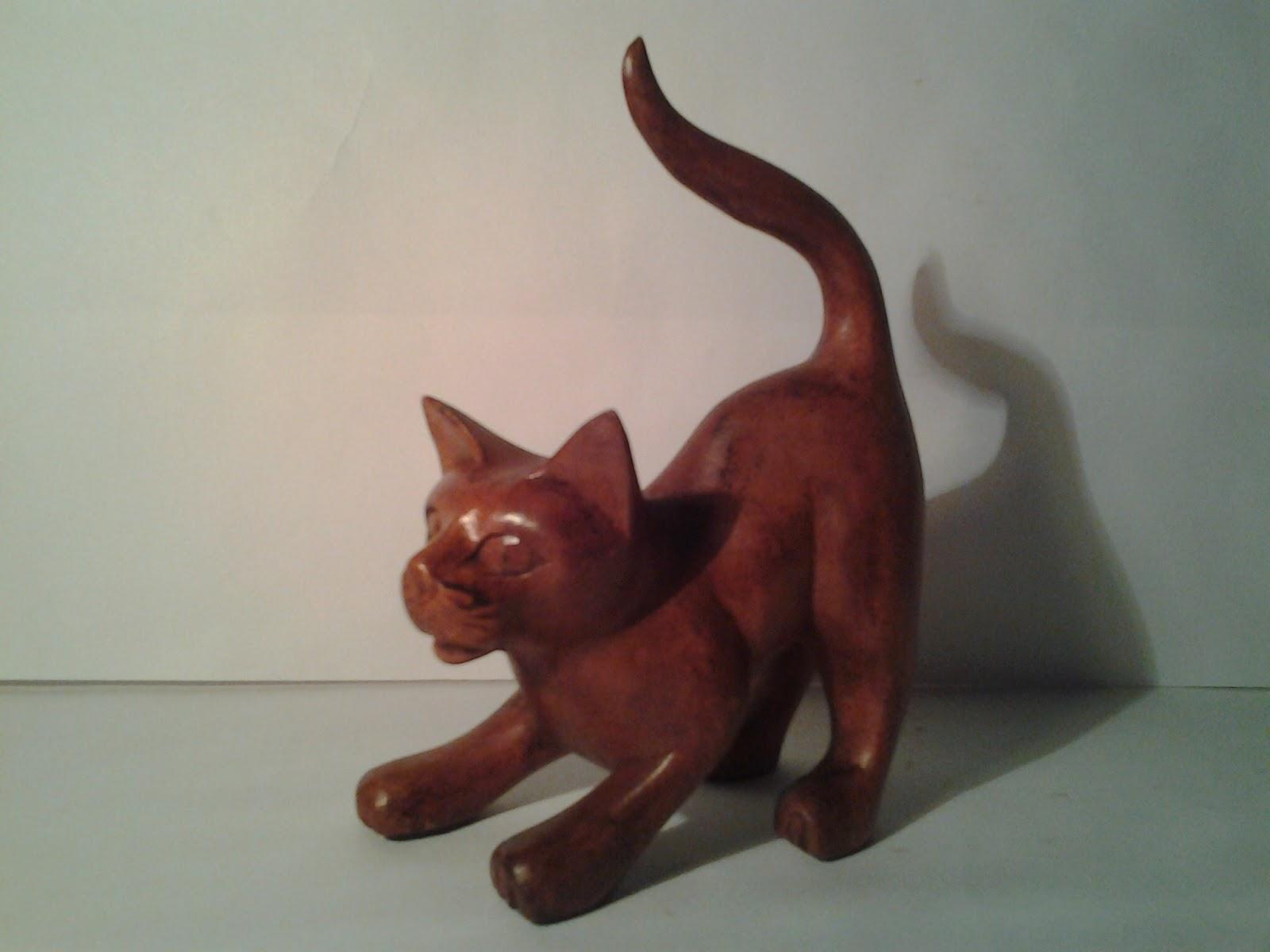 Кошек из дерева своими руками 14