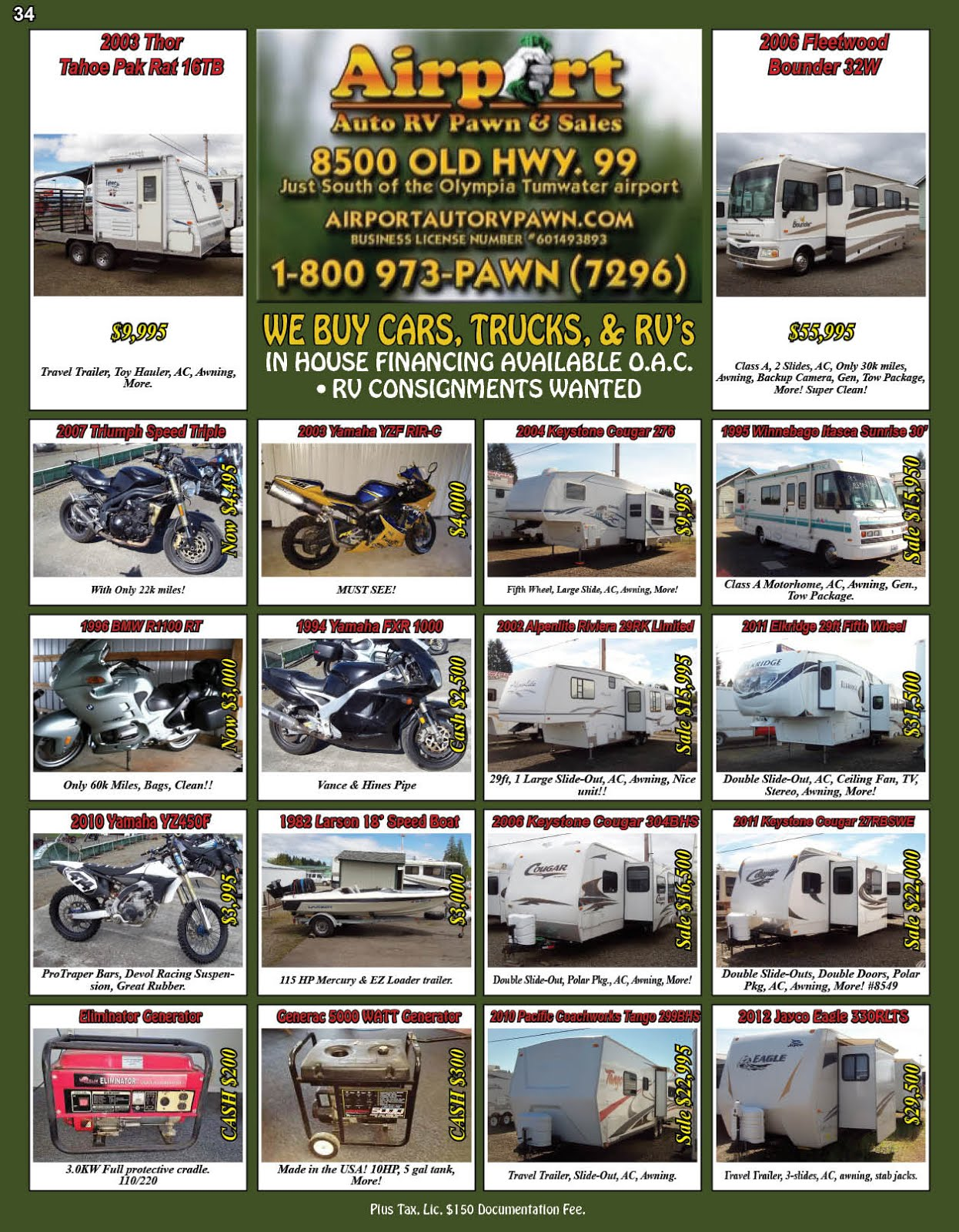 Airport Auto RV Pawn & Sales