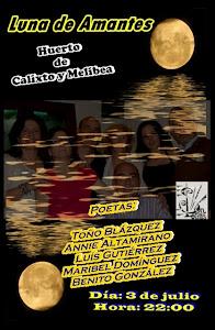 """""""SonLetras"""" en el Huerto de Calixto y Melibea, el martes 3 de julio."""