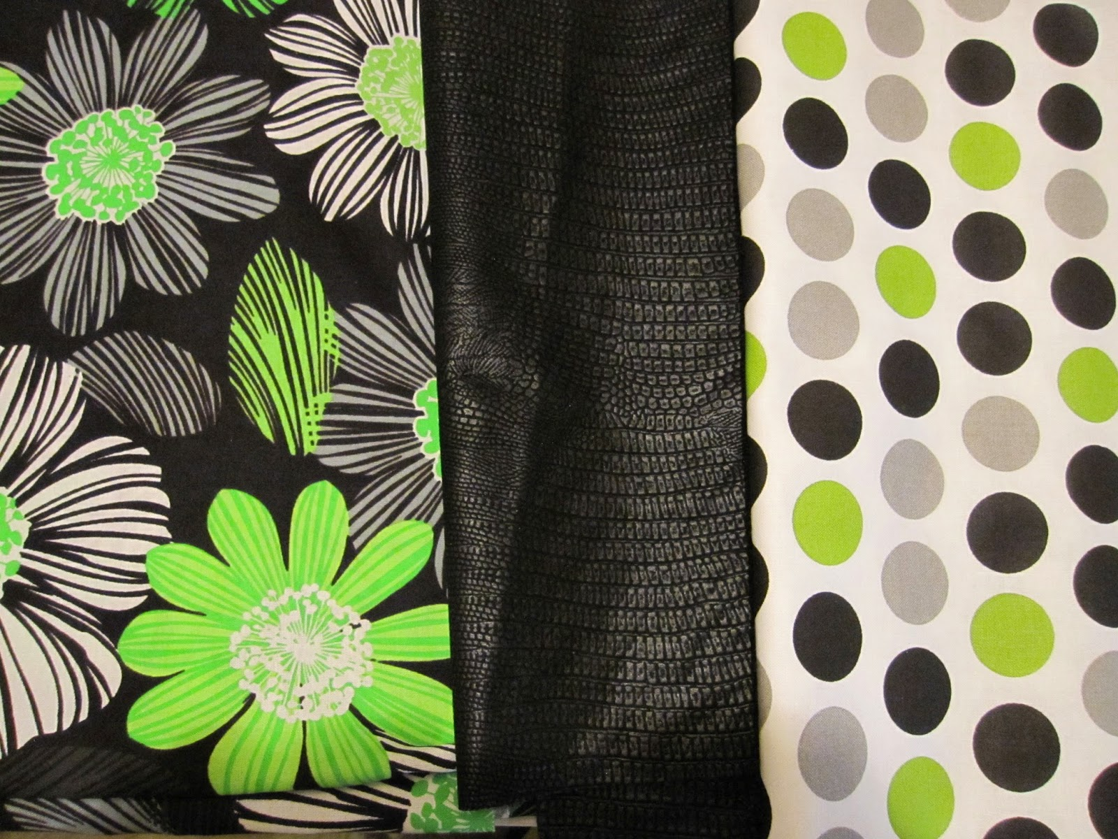 shades of BOLD : Butterfly, Lime Green and Black...Something Fun