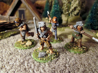 SAGA Berserkers, Hearthguard, Viking Ulfhednar from Crusader Miniatures